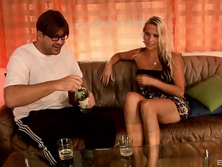MILF Julia Pink simply loves a good old man of the cloth action