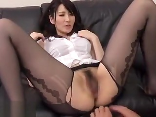 Foot Fetish Nyloned Foots Cum on Nyloned Foots Cute Girl Sex HD Foot Fetish