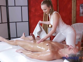 Massage Grant Loud orgasms and creampie for fat blarney