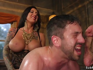 Alt mistress and master gangbang guy