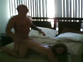 Blonde Fucked Doggystyle And Caught On Hidden Camera