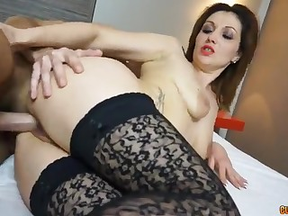 Romanian mommy gets her outlook spunked - ivana rosano