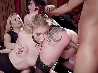 Amazing rapacious Arabelle Raphael is made for brutally horny hard orgy
