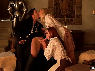 Dated maid, Carla Cox had a threesome the ot