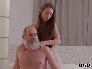 Naughty day is most important on her boyfriend more his old step daddy