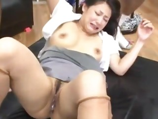 JAPANESE Join in matrimony BIG BLACK COCK GANGBANG tube porn