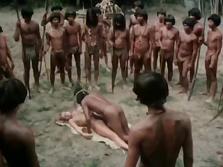 Laura Gemser Emanuelle and the Persevere in Cannibals (1977)