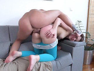 Big dick and hardcore fucking for a redhead anal unfenced girl