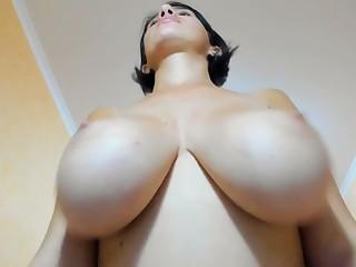 Cam of my huge boobs breast-feed