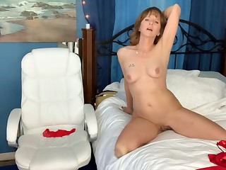 Sex-crazed mature young gentleman webcam sex show