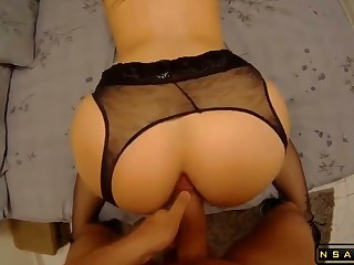 MILF getting tokus fucked for the first time