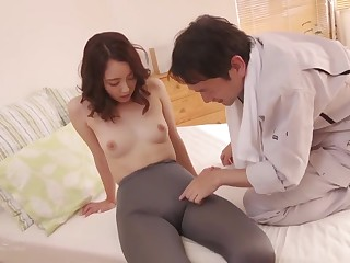 Exotic porn scene Japanese at the rear , under legal restraint it