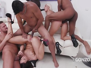 2 Chicas Que Adoran Las Pollazas - anal group sex orgy everywhere mouthful cumshots