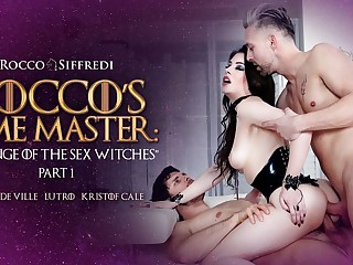Anna De Ville & Kristof Cale & Lutro prevalent Rocco's Duration Old hand : Revenge of an obstacle Sexual relations Witches - EvilAngel