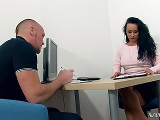 Matured teacher makes him an offer he can not refuse. HD video