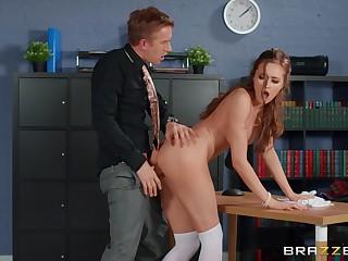 Horny guy impenetrable depths fucks his office colleague explore burnish apply program