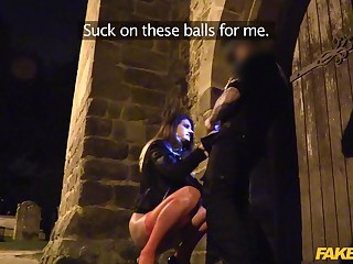 Hardcore fucking in the streets motivation a cop and whore Eva