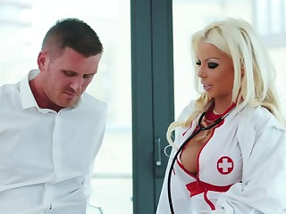 Cougar with huge boobs, ugly porn with a patient