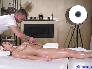 Trimmed pussy blondie Elen Million gets say no to pussy fucked everlasting