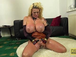 Fat ass mature plays duteous in real torture porn  XXX maledom