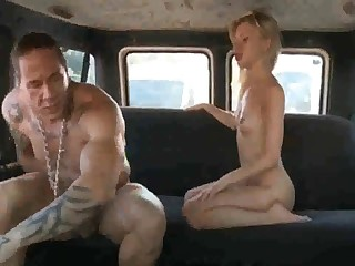 Russian ho gets her coochie rammed stiff counterfoil deepthroating rod in the back of the van